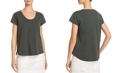 Theory Easy Scoop-Neck Tee - Bloomingdale's_2