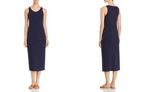 Eileen Fisher System Scoop Neck Midi Tank Dress - Bloomingdale's_2