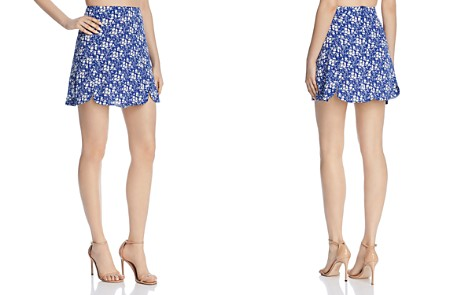 For Love & Lemons Zamira Floral-Print Mini Skirt - Bloomingdale's_2