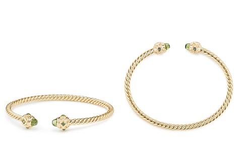 David Yurman Renaissance Bracelet with Peridot in 18K Gold - Bloomingdale's_2