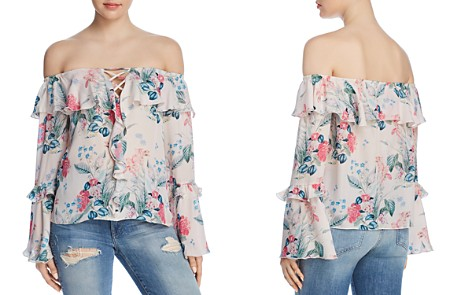 Parker Erin Off-the-Shoulder Floral-Print Top - Bloomingdale's_2
