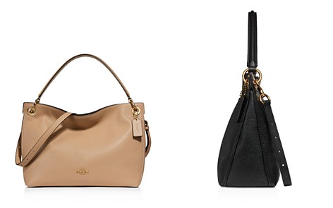 COACH Polished Pebble Leather Clarkson Hobo - Bloomingdale's_2