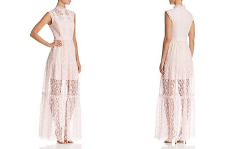 AQUA Tiered Lace Maxi Dress - 100% Exclusive - Bloomingdale's_2