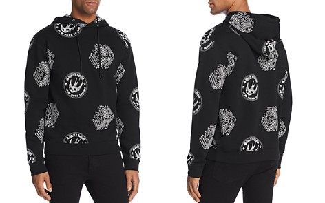 McQ Alexander McQueen Cube Logo and Swallow Hoodie - Bloomingdale's_2