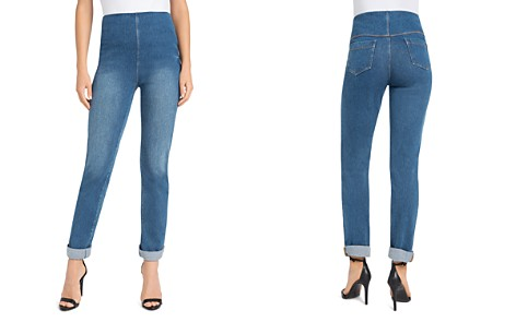 Lyssé Boyfriend Denim Leggings - Bloomingdale's_2