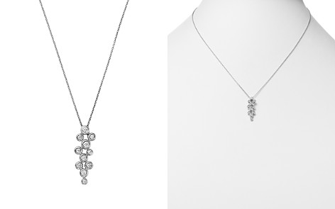 Bloomingdale's Diamond Multi Bezel Pendant Necklace in 14K White Gold, 0.25 ct. t.w. - 100% Exclusive_2