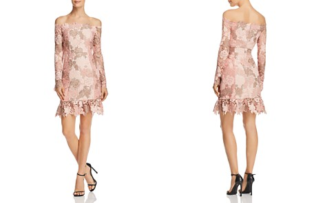 Elliatt Harmony Off-the-Shoulder Lace Dress - Bloomingdale's_2