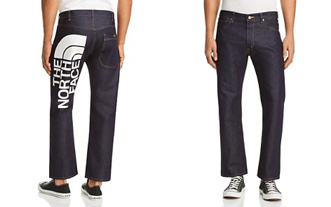 Junya Watanabe x The North Face Straight Fit Jeans in Dark Blue - Bloomingdale's_2