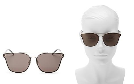 Bottega Veneta Brow Bar Square Sunglasses, 68mm - Bloomingdale's_2