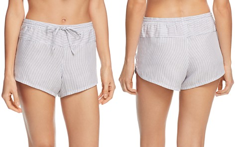 Calvin Klein Striped Sleep Shorts - Bloomingdale's_2