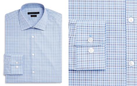 John Varvatos Star USA Check Regular Fit Dress Shirt - Bloomingdale's_2