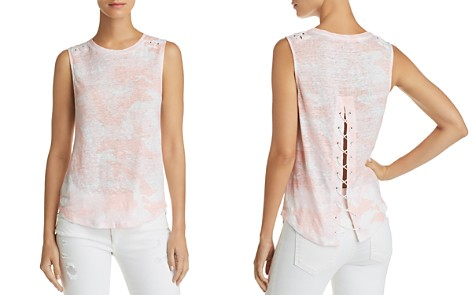 Generation Love Camden Lace-Up Camo Tank - Bloomingdale's_2