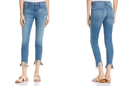 FRAME Le High Skinny Stiletto Hem Jeans in Culver - 100% Exclusive - Bloomingdale's_2