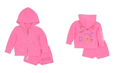 Butter Girls' Embellished Pool Day Hoodie & Shorts Set - Little Kid - Bloomingdale's_2