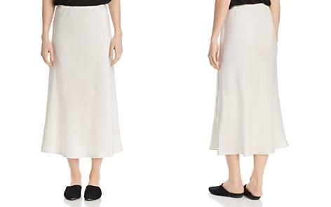Eileen Fisher Bias Cut Silk Skirt - Bloomingdale's_2