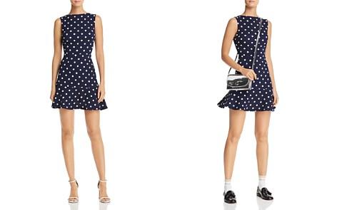 AQUA Ruffle-Hem Polka Dot Dress - 100% Exclusive - Bloomingdale's_2
