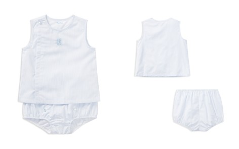 Ralph Lauren Boys' Striped Poplin Shirt & Bloomers Set - Baby - Bloomingdale's_2
