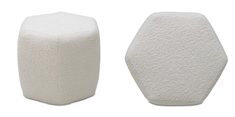 Bloomingdale's Artisan Collection Snug Hexagon Ottoman_2