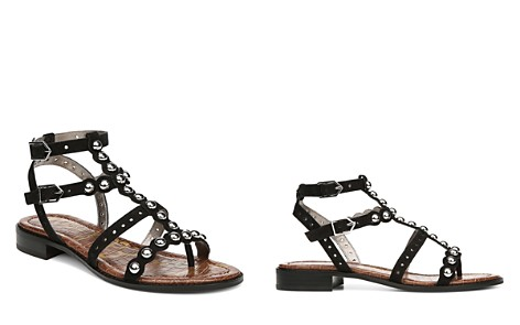 Sam Edelman Women's Elisa Studded Suede Sandals - Bloomingdale's_2