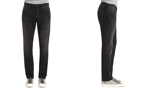 Mavi Marcus Slim Straight Fit Jeans in Dark Smoke - Bloomingdale's_2