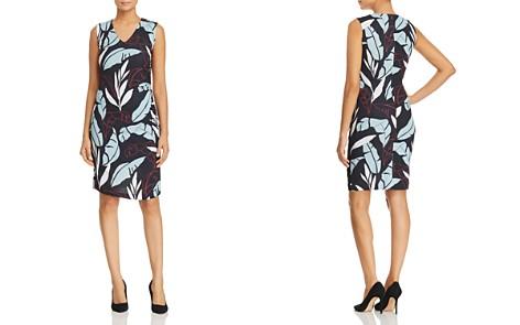 BOSS Erea Leaf-Print Sheath Dress - Bloomingdale's_2
