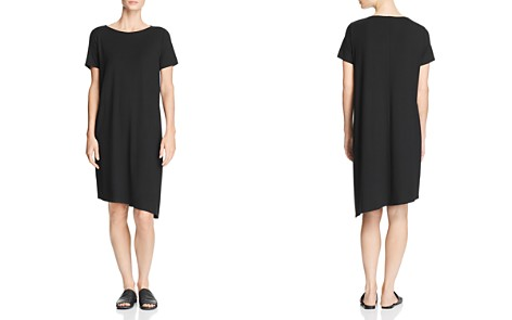 Eileen Fisher Asymmetric Shift Dress - Bloomingdale's_2