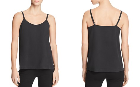 Eileen Fisher Silk V-Neck Cami - Bloomingdale's_2