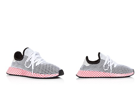 Adidas Women's Deerupt Runner Net Lace Up Sneakers - Bloomingdale's_2