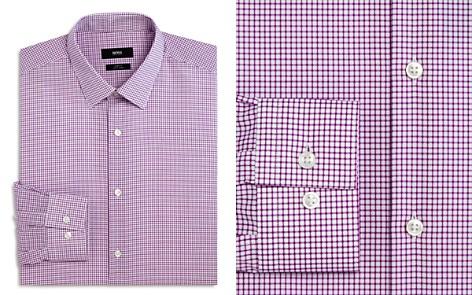 BOSS Micro Grid Slim Fit Dress Shirt - Bloomingdale's_2