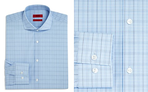 HUGO Plaid Slim Fit Dress Shirt - Bloomingdale's_2