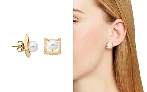Majorica Stud Earrings - Bloomingdale's_2