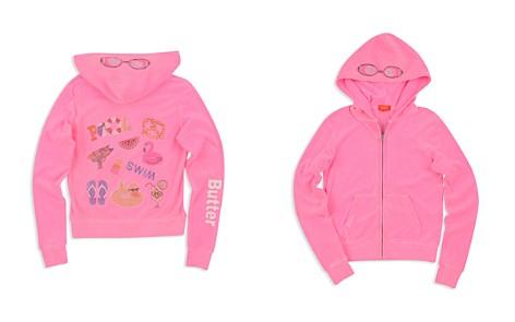 Butter Girls' Embellished Pool Day Fleece Hoodie - Big Kid - Bloomingdale's_2