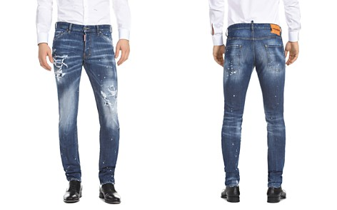 DSQUARED2 Slim Fit Jeans in Medium Wash - Bloomingdale's_2