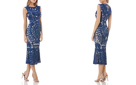 JS Collections Soutache Midi Dress - Bloomingdale's_2