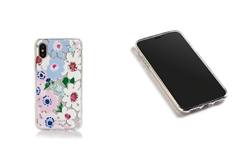 kate spade new york Jeweled Daisy Garden Clear iPhone X Case - Bloomingdale's_2