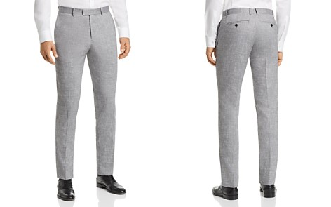 Theory Mayer Solid Slubbed Summer Slim Fit Suit Pants - Bloomingdale's_2