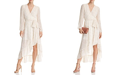 WAYF Messina Floral Wrap Dress - 100% Exclusive - Bloomingdale's_2