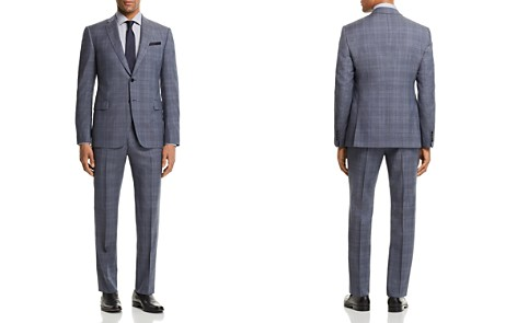Emporio Armani Tonal Plaid Slim Fit Suit - Bloomingdale's_2