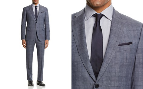 Emporio Armani Tonal Plaid Slim Fit Suit - Bloomingdale's_2