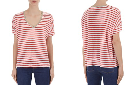 Gerard Darel Pandore Striped Tee - Bloomingdale's_2