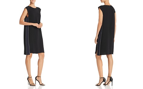 Theory Minimal Crepe Dress - Bloomingdale's_2