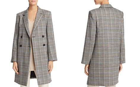 Theory Plaid Double-Breasted Jacket - Bloomingdale's_2