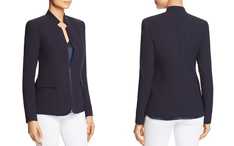 Elie Tahari Safina Stand-Collar Jacket - 100% Exclusive - Bloomingdale's_2