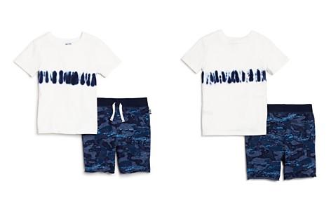 Splendid Boys' Tie-Dye Stripe Tee & Camo Shorts Set - Little Kid - Bloomingdale's_2