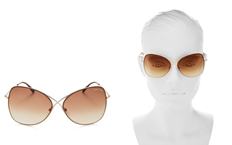 Tom Ford Colette Round Sunglasses, 60mm - Bloomingdale's_2