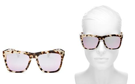Illesteva Women's Los Feliz Mirrored Square Sunglasses, 57mm - Bloomingdale's_2