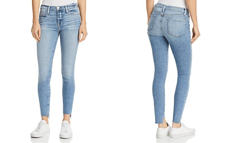 FRAME Le Skinny De Jeanne Step-Hem Jeans in Westway - 100% Exclusive - Bloomingdale's_2