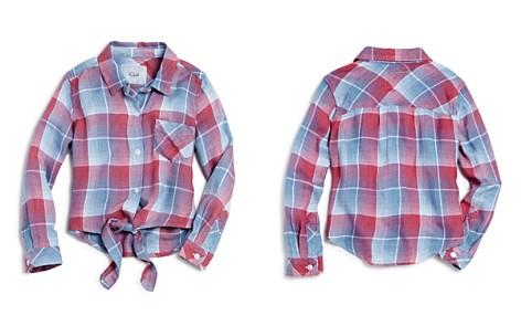 Rails Girls' Valerie Tie-Front Plaid Shirt - Little Kid, Big Kid - Bloomingdale's_2