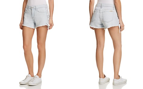 Joe's Jeans Denim Boyfriend Shorts in Hillary - Bloomingdale's_2