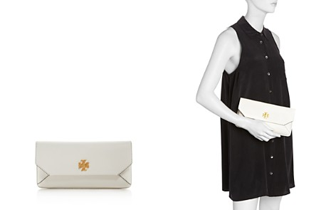 Tory Burch Kira Leather Envelope Clutch - Bloomingdale's_2